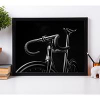 Poster Emoldurado - Black Bike