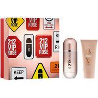 Kit 212 Vip Rose Feminino Eau De Parfum 80Ml + Body Lotion 100Ml Único