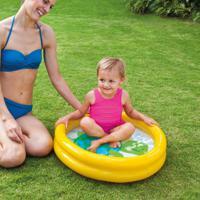 Piscina Infantil Baby 17L Amarela 59409 Intex