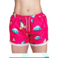 Short Verão Impermanence Estampa Don Pinguino Feminino - Feminino