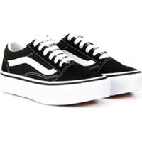 Vans Kids Old Skool Low-Top Sneakers - Preto
