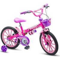 Bicicleta Nathor Top Girls Aro 16 Infantil - Feminino