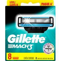 Carga Gillette Mach3 Leve 8 Pague 6