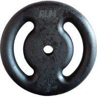 Anilha De Ferro Fundido Pintada - 20 Kg - Unissex