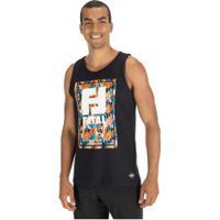 Camiseta Regata Fatal Estampada 23722 - Masculina - Preto