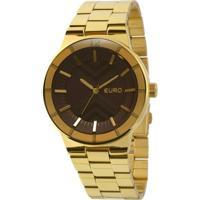 Relógio Euro - Feminino-Dourado