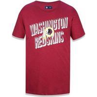 Camiseta Washington Redskins Nfl New Era Masculina - Masculino