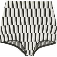 Andrea Bogosian Hot Pants Pallas De Tricô - Estampado