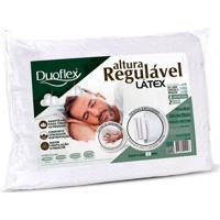 Travesseiro Duoflex Altura Regulavel Latex