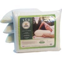 Kit Travesseiro Látex De Poliuretano Antialérgico Eco Cestari 2 Peças