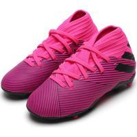 Chuteira Adidas Performance Menino Nemeziz 19 3 Fg Jr Rosa
