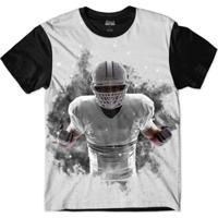 Camiseta Attack Life Futebol Americano Explosivo Sublimada Masculina - Masculino