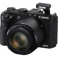 Câmera Digital Canon G3X 20Mp/25X/Fhd/Wi-Fi/Nfc/Preta