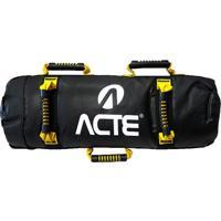 Sand Bag- Preta & Amarela- 10Kg- Acte Sportsacte