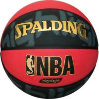 Bola De Basquete Highlight Red Oficial 73-231Z-100 - Spalding