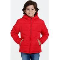 Jaqueta Infantil Capuz Bolsos Marisa