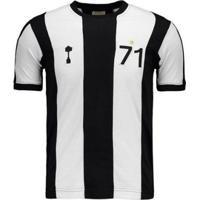 Camisa Alvinegro Retrô 1971 Masculina - Masculino