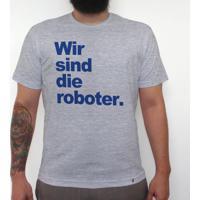 Wir Sind Die Roboter - Camiseta Clássica Masculina