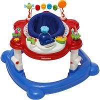 Carrinho Andador De Bebê 4 Em 1 Galzerano Funny 4030Cr