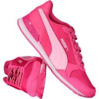 e0eba1cf55 Tênis Juvenil Puma St Runner V2 Nl Feminino - Feminino-Rosa