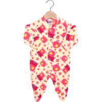 Pijama Tip Top Longo Baby Amarelo