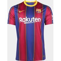 Camisa Barcelona Home 20/21 S/N° Torcedor Nike Masculina - Masculino