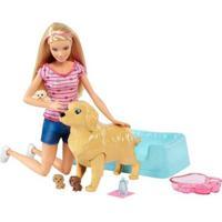 Boneca Barbie Family - Loira - Filhotinhos Recém-Nascidos - Mattel - Feminino-Incolor