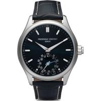Frederique Constant Relógio Horological Gents Classics 42Mm - Navy-Blue Dial With Sunray Decoration
