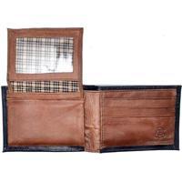 Carteira Couro Hendy Bag Com Porta-Cartão - Masculino-Preto