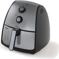 Fritadeira Elétrica Midea Air Fryer 4 Litros 1500W Fxa41 Prata 127V