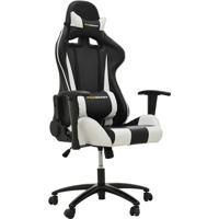 Cadeira De Escritório Gamer Stilo Preto E Branco