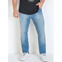 Calça Skinny Jeans Eventual Com Bolsos