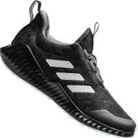 Tênis Adidas Fortarun K Gs - Infantil - Cinza Escuro/Branco