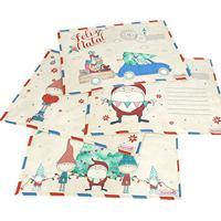 Jogo Americano - 4 Unidades - Cartas De Natal - True Friends