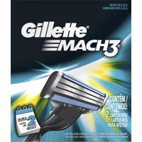 Carga Gillette Mach3 C/ 2 Unidades