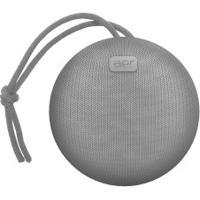 Caixa De Som Sem Fio Com Bluetooth Aerbox - Cinza