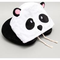 Travesseiro De Viagem Com Capuz Panda