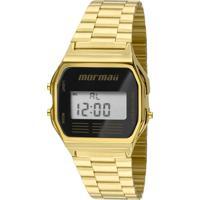 Relógio Digital Mormaii Mojh02Ab/4P Dourado