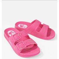 Tamanco Infantil Grendene Barbie Summer Pink