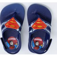 Chinelo Infantil Super Homem Grendene Kids 21599