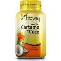 Óleo De Cartamo + Côco - 60 Cápsulas - Fitoway - Unissex