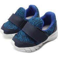 Tênis Tricae Menino Têxtil Azul