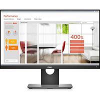 "Monitor Professional Led Qhd Ips 23,8"" Widescreen Dell P2418D Preto"