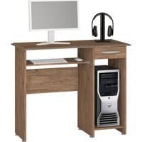 Mesa Para Computador Siena New 1 Gv Castanho