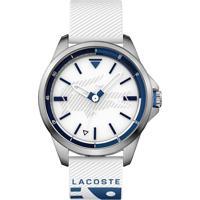 758658d19f52b Relógio Lacoste Masculino Nylon Preto - 2010950. Vivara  Relógio Lacoste  Masculino Borracha Branca - 2010942