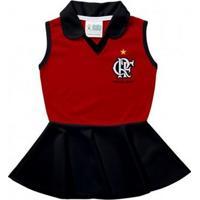 Vestido Polo Bebê Flamengo - Torcida Baby
