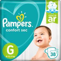 Fralda Pampers Confort Sec Tamanho G 38 Tiras