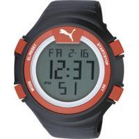 b9df931468d Relógio Digital Puma 96266Mo - Masculino - Preto Vermelho