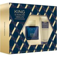 Antonio Banderas King Of Seduction Absolute Kit - Eau De Toilette + Pós-Barba Kit - Masculino-Incolor