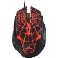 Mouse Gamer Spider 2 Om-705 Usb Preto/Vermelho Fortrek